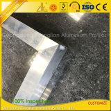 Marcos de aluminio del ángulo de la fábrica del CNC de la soldadura de encargo de aluminio del corte