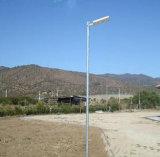 20W LED統合された太陽LEDの街灯(太陽1つのすべて)