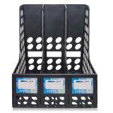 Cassetto di plastica dell'archivio standard delle 3 colonne per uso da tavolino della cancelleria