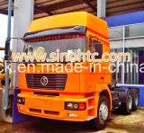 Testa di rimorchio del trattore del camion di SHACMAN, testa del rimorchio