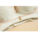 Soutien-gorge brodé par lacet élégant de sous-vêtements de dames de Shapewear