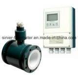 Contador de flujo magnético con el convertidor para el petróleo del agua potable de las aguas residuales