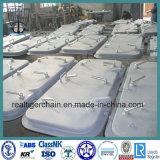 Portello d'acciaio del Singolo-Foglio per la barca