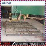Rete metallica unita tessuta galvanizzata dell'acciaio inossidabile del quadrato della rete metallica per il pavimento del maiale