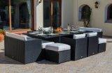 Супер люкс кубик ротанга обедая комплект