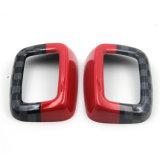 Couverture arrière protégée UV matérielle de ceinture de sécurité de type de couleur de Jcw ABS de tout neuf pour le membre d'un club F54 (2PCS/Set) de Mini Cooper