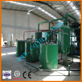 Caliente al petróleo usado basura de Medio Oriente que recicla la máquina de la refinería del aceite de motor del motor de la máquina