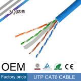 Cavo di lan dell'OEM CAT6 UTP di prezzi di fabbrica di Sipu per la comunicazione