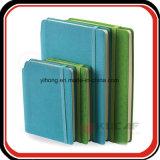 Agenda de la oficina del cuaderno del estudiante de la PU de la espina dorsal del sostenedor de la pluma