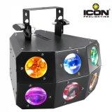 Luz de la viga de la buena calidad 24X3w RGBA 4in1 LED con la matriz de Derby