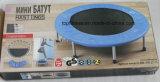 4-Folding mini Trampoline colorido de 38 polegadas, miúdos internos/brinquedo ao ar livre