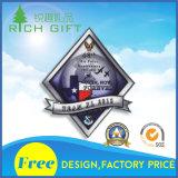 Kundenspezifische gesponnene Stickerei Bagde/Änderung- am Objektprogrammdekoration