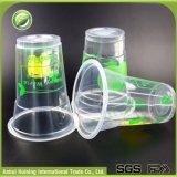 De beschikbare Koppen van het Roomijs van pp Plastic met de Deksels van de Koepel
