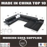 La maggior parte del sofà sezionale moderno popolare del cuoio della mobilia dell'Italia