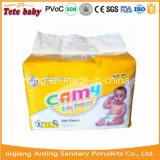 Couche-culotte remplaçable de bébé de Camy avec des bandes du film pp de PE