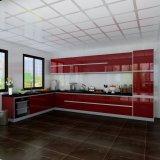Keukenkasten van de Kasten van de Keuken van de Melamine van de Lak van BMW van het Ontwerp van het huis de Hoge Bruto