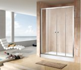 Banheiro dobro da porta deslizante da economia 4/5mm do cerco do chuveiro (EC-DSL13)