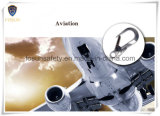 Тип G9128L Carabiner крюка алюминия щелчковый