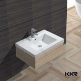人工的な石造りのCorianのアクリルの固体表面の浴室の洗面器