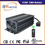 25% energiesparender 315W CMH Digital elektronischer Vorschaltgerät-Hydroponik-Installationssatz mit starkem R&D-Team