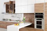 現代MFCの木製の穀物の台所家具