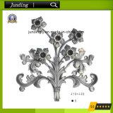 Elegantes bearbeitetes Eisen-Blumen-Panel für Eisen-Gatter oder Eisen-Geländer