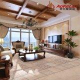 Azulejo de suelo de cerámica rústico esmaltado Matt del diseño del escaparate de la sala de estar