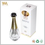 Caixa de papel rígida do perfume do logotipo feito sob encomenda árabe luxuoso para homens/Wowen
