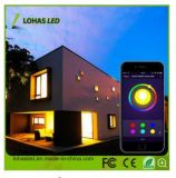 Wi-Fi Smart LED Bulb RGB APP Smartphone Controlled LED Lighting Dimmable Multicolore Changement de couleur E27 9W