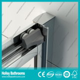 Алюминиевый экран ливня оси с Tempered прокатанным стеклом (SE923C)