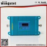 2017 répéteur mobile à deux bandes de signal de la vente chaude 900/2100MHz 2g 3G 4G