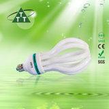 105W 로터스 3000h/6000h/8000h 2700k-7500k E27/B22 220-240V 에너지 절약 램프는 아래로 값을 매긴다