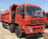 Árboles del carro de vaciado de Dongfeng 8X4 4 30 toneladas de carro de descargador resistente Prcie