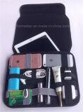 teléfono elegante del bolso del almacenaje de los adminículos del iPad que recibe el bolsillo