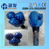 Morceau de foret de cône du bleu trois