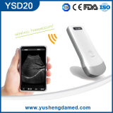 Escáner CE certificado del equipo del hospital inalámbrica sonda de ultrasonido para el iPad