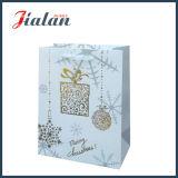 De hete het Stempelen Zak van het Document van de Gift van het Document van de Kunst van Kerstmis Glanzende Gelamineerde
