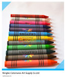 12 crayons non-toxiques classiques des couleurs 1.1*10cm pour des étudiants et des enfants