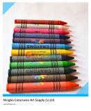 12 colori 1.1*10cm Classic Non-Toxic Crayons per Students e Kids