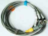 Plastic Single Redel. 4GHz DIN 3.0 4 ECG Cable