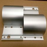 La protuberancia de aluminio/sacó el perfil de aluminio para el corchete del tubo