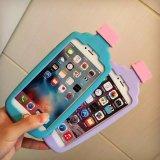 Горячее аргументы за iPhone6 силикона бутылки трактира Foods+Drink способа