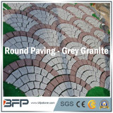 Pedra de pavimentação de granito cinzento da China - Pedra de gesso emparedada para exterior