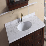 Шкаф ванной комнаты нового пола стоящий алюминиевый с зеркалом