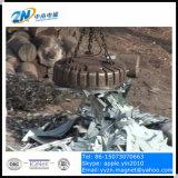 ローディングの鋼鉄のためのコントロール・パネルが付いている16トンクレーンのための鋳造物ボディ持ち上がる磁石はCmw5-210L/1を捨てる