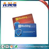 La carpeta de RFID que bloquea la tarjeta protege su información personal