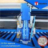 Preço da máquina de estaca do laser do aço inoxidável do triunfo 2mm