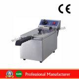 sartén eléctrica comercial de escritorio del acero inoxidable 8L con el Ce (WF-081)