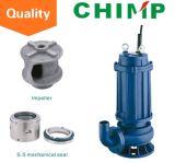 Pompa centrifuga sommergibile di Wq (D) acqua sporca monofase o a tre fasi 0.75kw (WQ (D) 10-8-0.75)