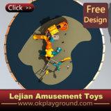 Equipo al aire libre del juego de los cabritos maravillosos aprobados del Ce (X1501-9)